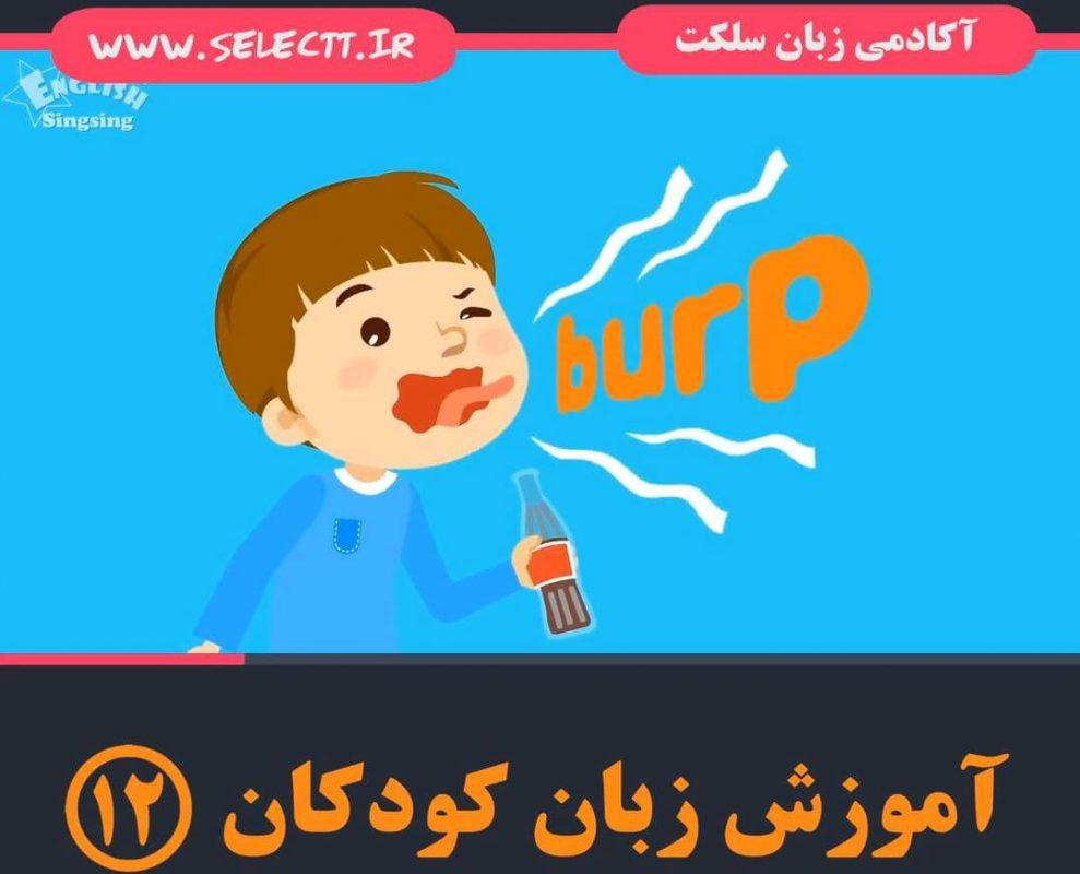 آموزش تصویری لغات برای کودکان(۱۲)
